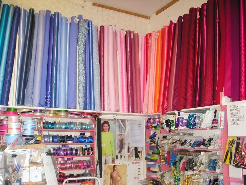 bridal&dressmaking fabrics.