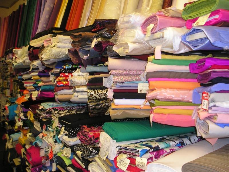 dress fabrics.