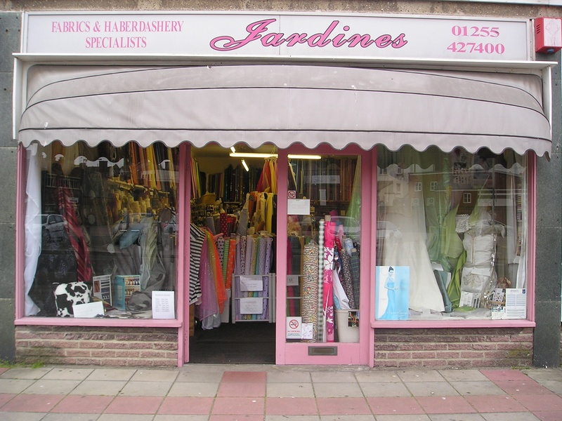 Jardines Fabrics, 29 Jackson Road , Clacton - On - Sea, Essex, CO15 4JA, ENGLAND